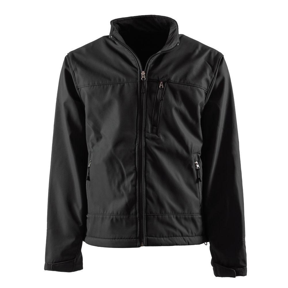 Men's 2X-Large Black Eiger Softshell Jacket