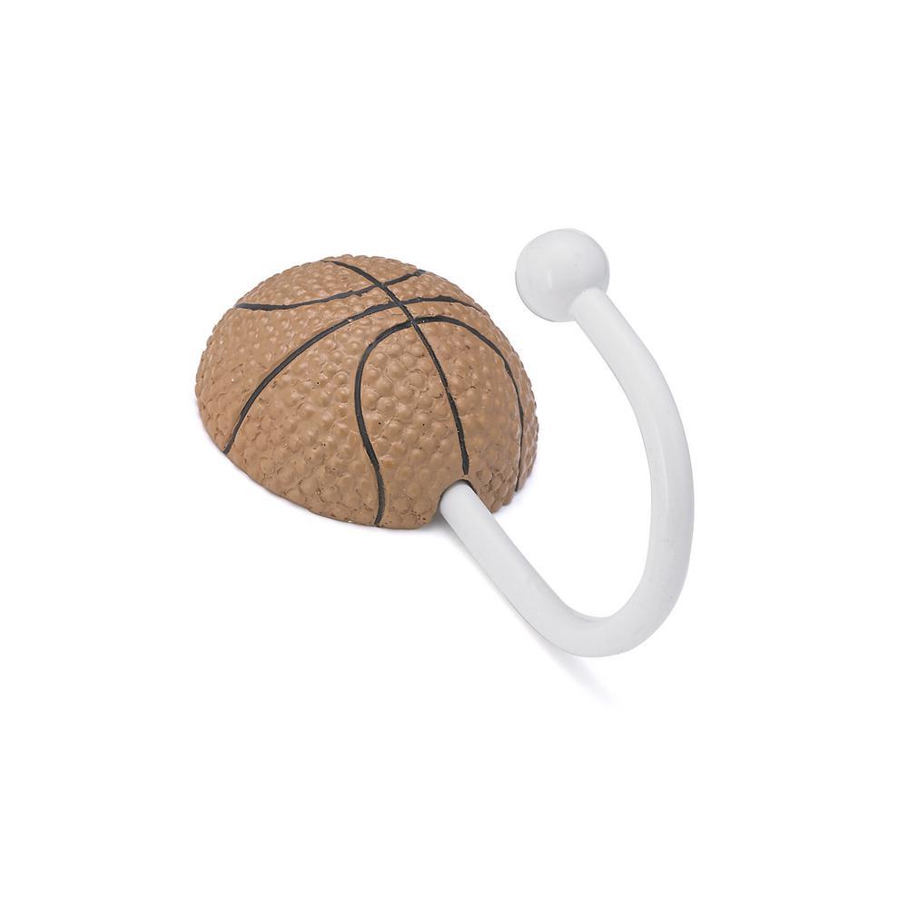 Children 3-5/8 in. Basketball Decorative Hook