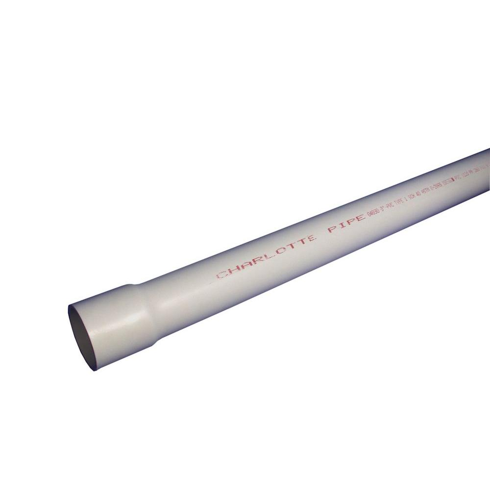 1 in. x 10 ft. Sch. 40 Belled End Pipe