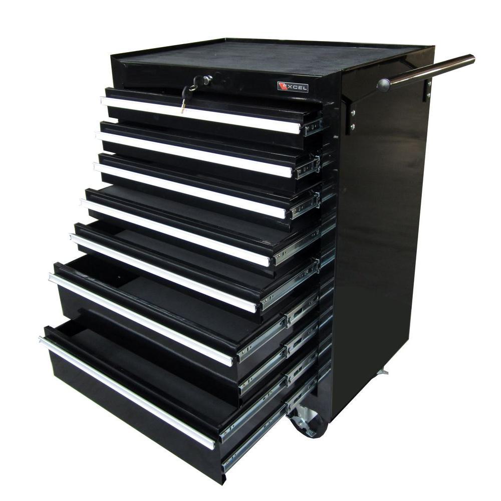 26.8 in. W x 18 in. D x 39.2 in. H Steel Roller Cabinet Each