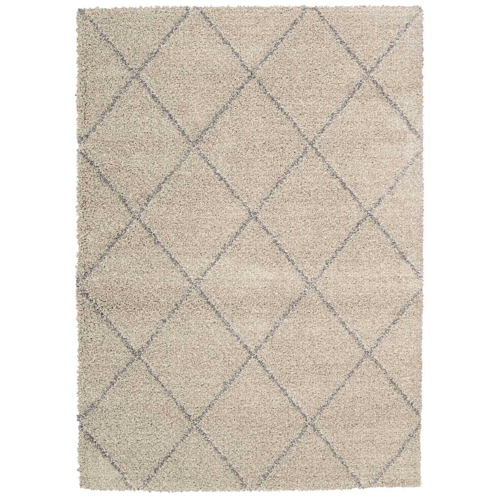 Brisbane Shag Ash 5 ft. x 7 ft. Area Rug