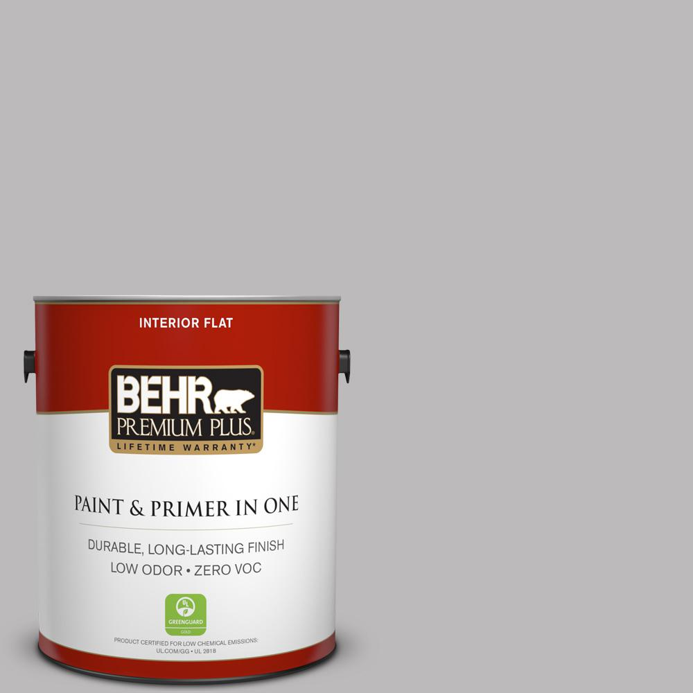 1 gal. #PPU16-11 Grape Creme Zero VOC Flat Interior Paint