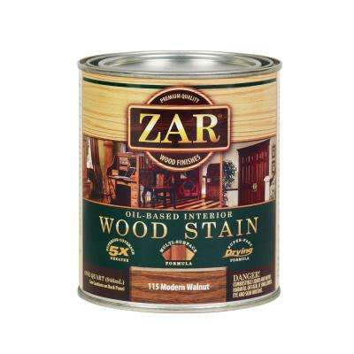 115 1 qt. Modern Walnut Wood Interior Stain (2-Pack)