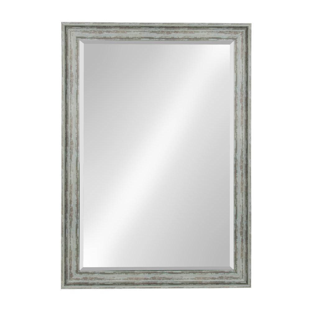 McKinley Rectangle Teal Mirror