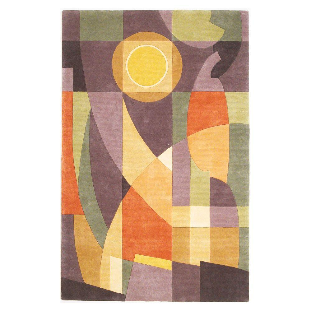 Kas Rugs Abstract Sun Pastels 9 ft. 3 in. x 13 ft. 3 in. Area Rug