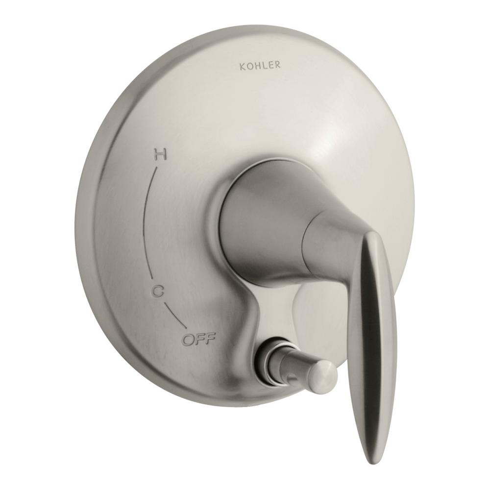 Alteo 1-Handle Valve Trim Kit with Diverter Button in Vibrant Brushed