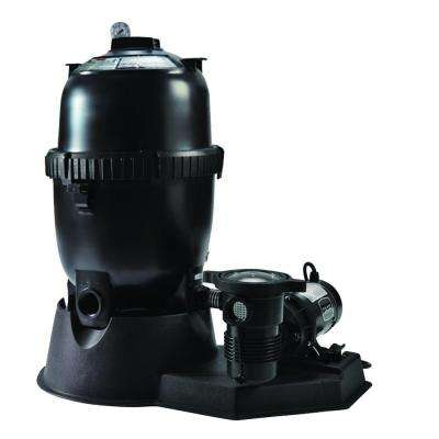 Sta-Rite 100 sq. ft. Mod Media Filter System with 1 HP Pump for Above Ground Pools