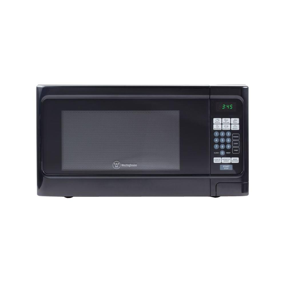 1000 Watt Countertop Microwave In Black