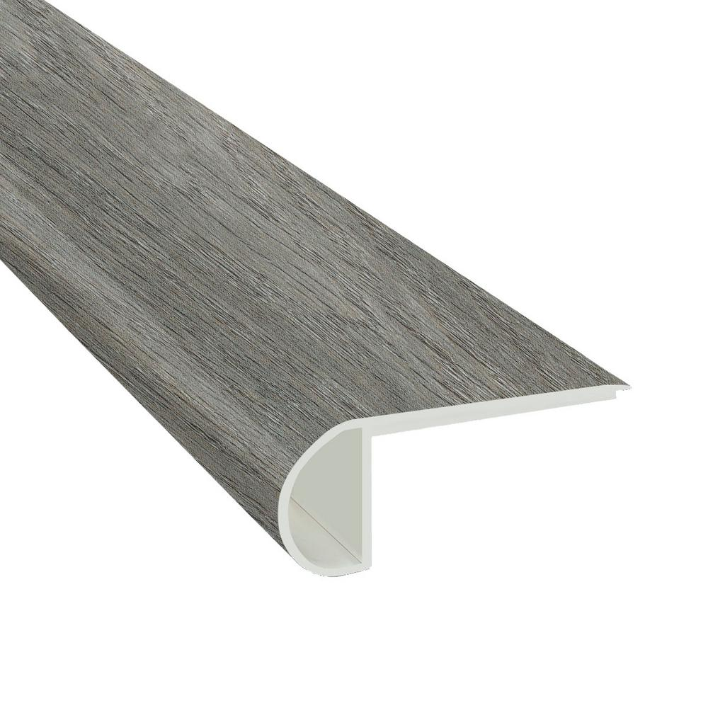 MSI Urban Ash 3/4 in. Thick x 2 3/4 in. Wide x 94 in. Length Luxury Vinyl Flush StairNose Molding