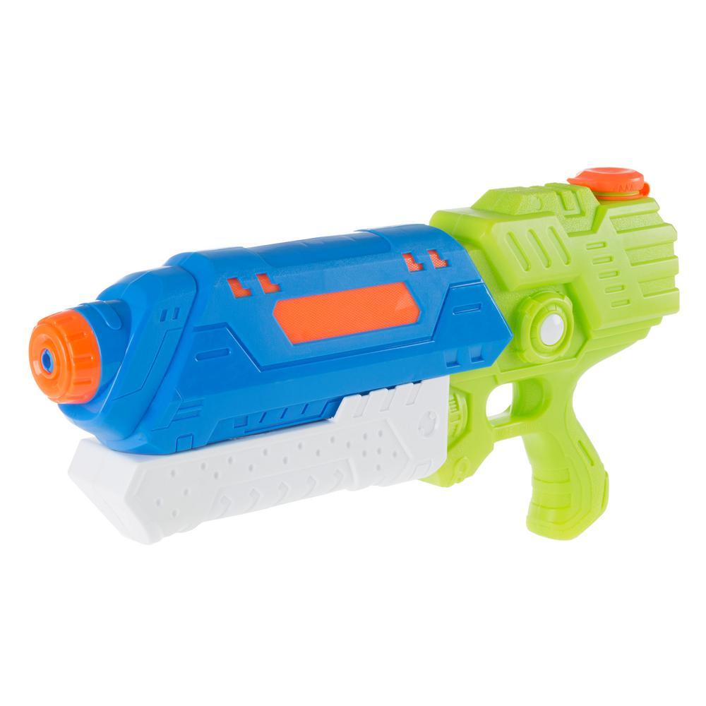 Blue and White Water Gun Soaker