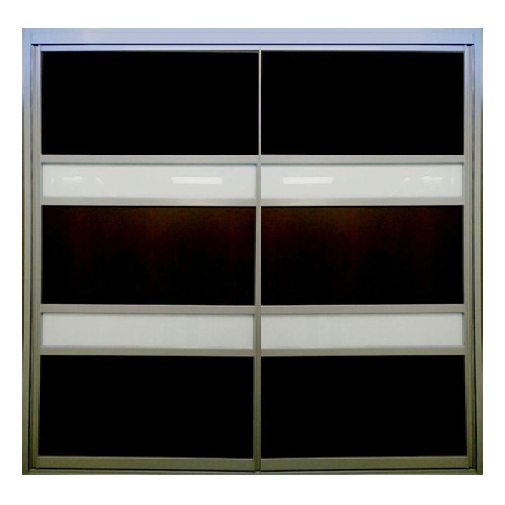 48 in. x 80 in. Legendary Series Majestic Sliding Aluminum Interior