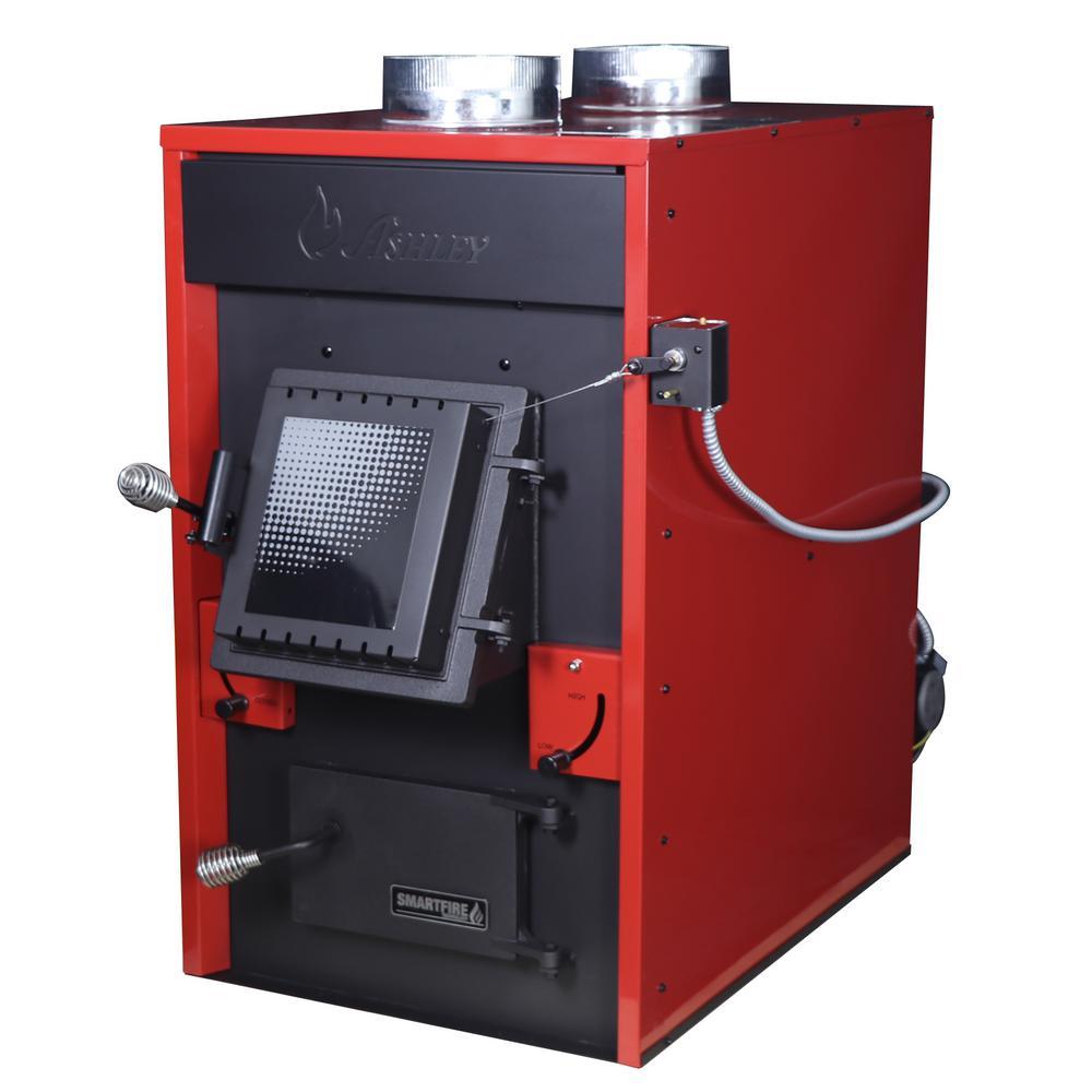 140,000 BTU EPA Certified Wood Burning Warm Air Furnace