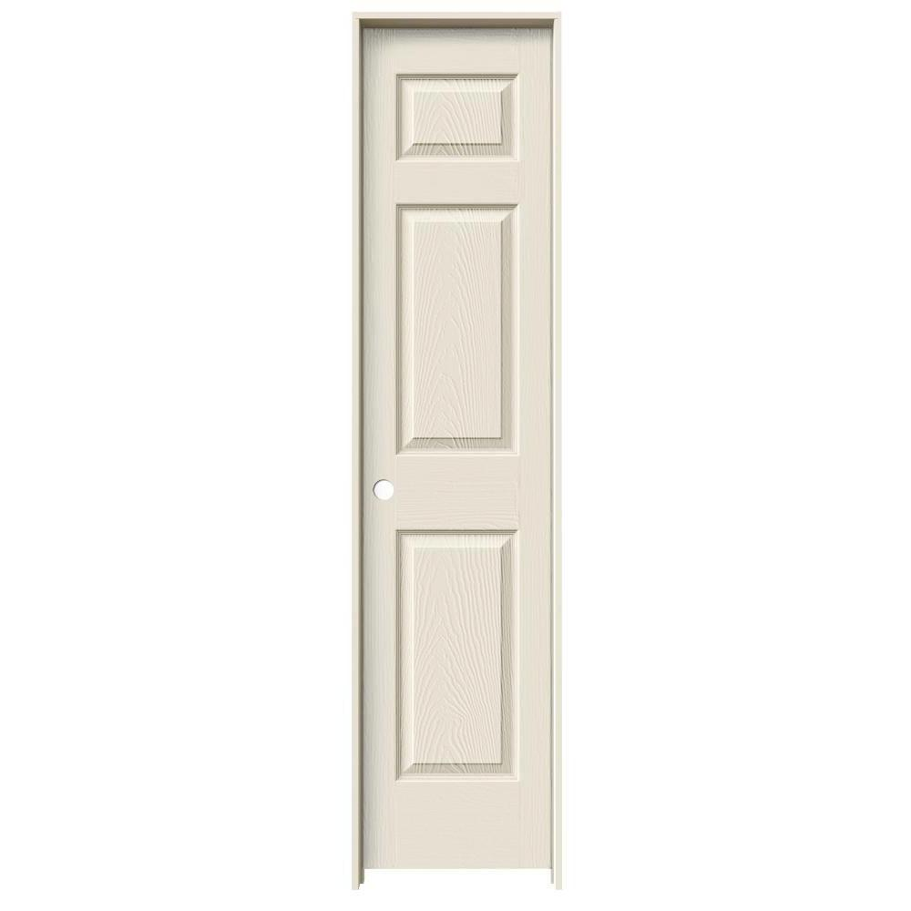 Jeld Wen 18 In X 80 In Colonist Primed Right Hand Textured Molded