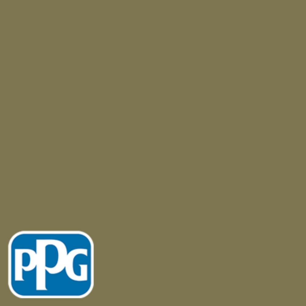 PPG TIMELESS 1 gal  #HDPPGG13 Antique Olive Semi-Gloss Interior One-Coat  Paint with Primer