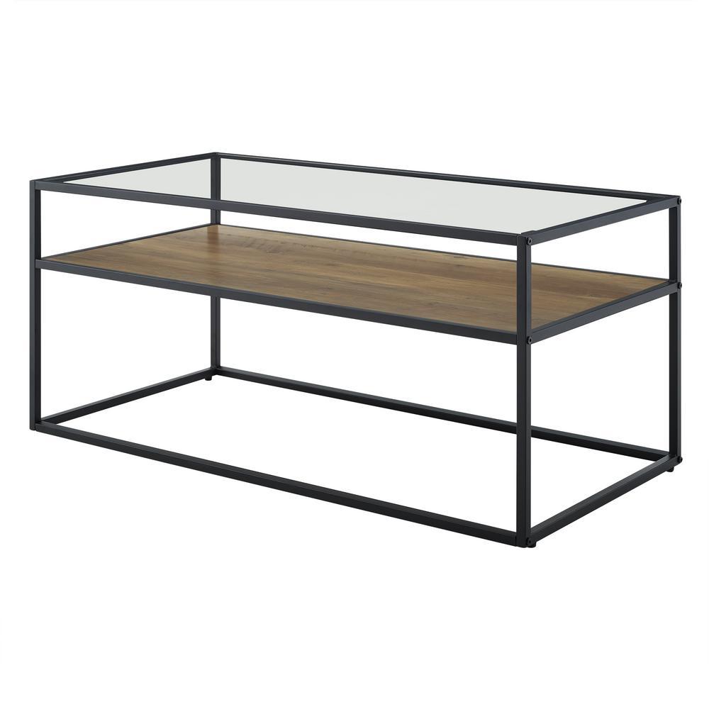 Walker Edison 40-inch Reversible Shelf Coffee Table Deals