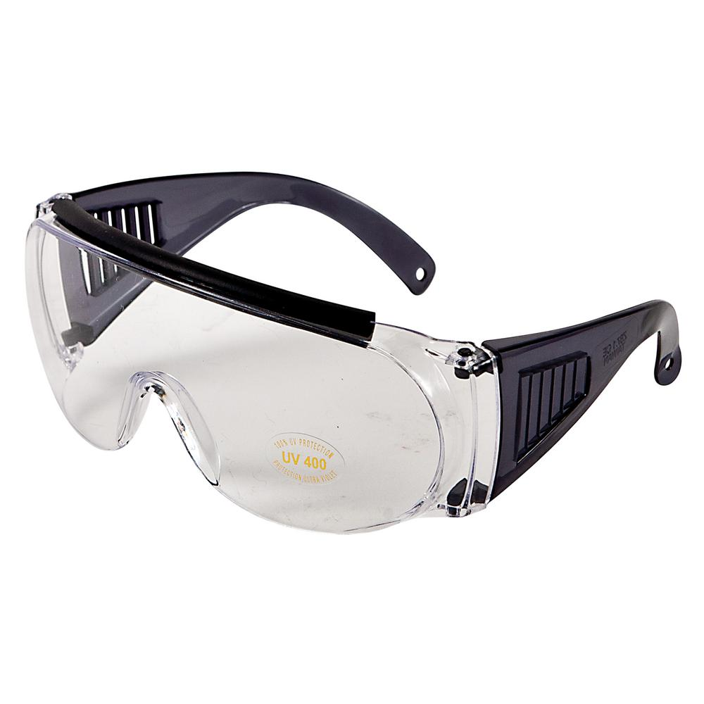d7bf5a7799f Allen Clear Over Shooting and Safety Glasses-2169 - The Home Depot