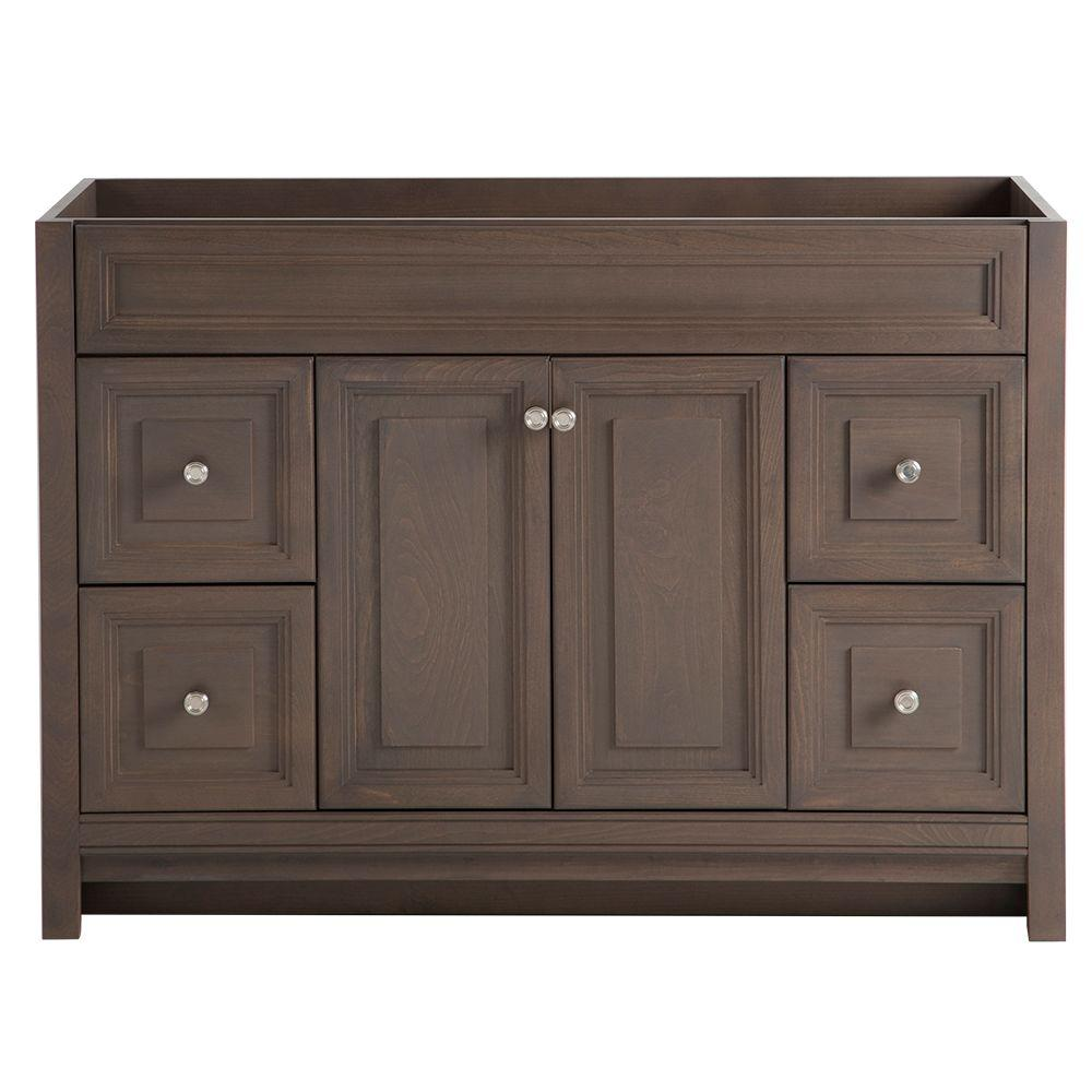 Home decorators collection brinkhill 48 in w bath vanity for Vanity top cabinet