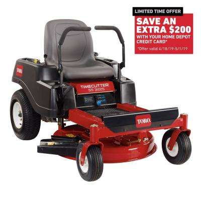 TimeCutter SS3225 32 in. 452cc Gas Zero Turn Riding Mower with Smart Speed