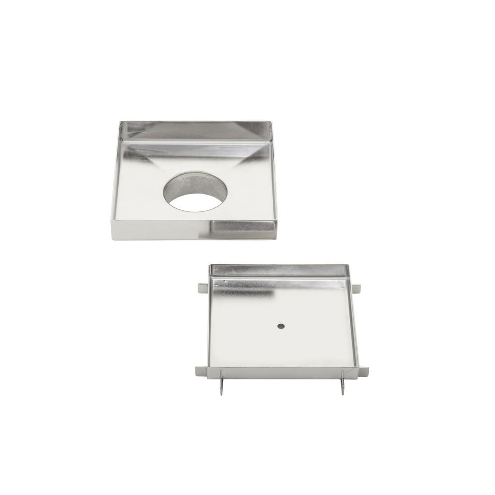 Ipt Sink Company 5 In X 5 In Stainless Steel Tile Insert