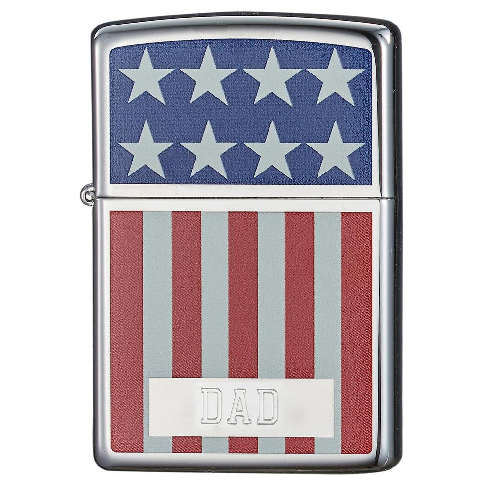 Zippo American Flag Design Father's Day Lighter