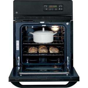 GE 24 in. Single Electric Wall Oven in Black Ge Oven Wiring Diagram Jkp on
