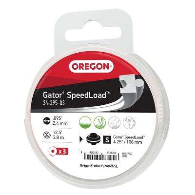 Gator SpeedLoad .095 in. x 12.5 ft. Replacement Trimmer Line Disk