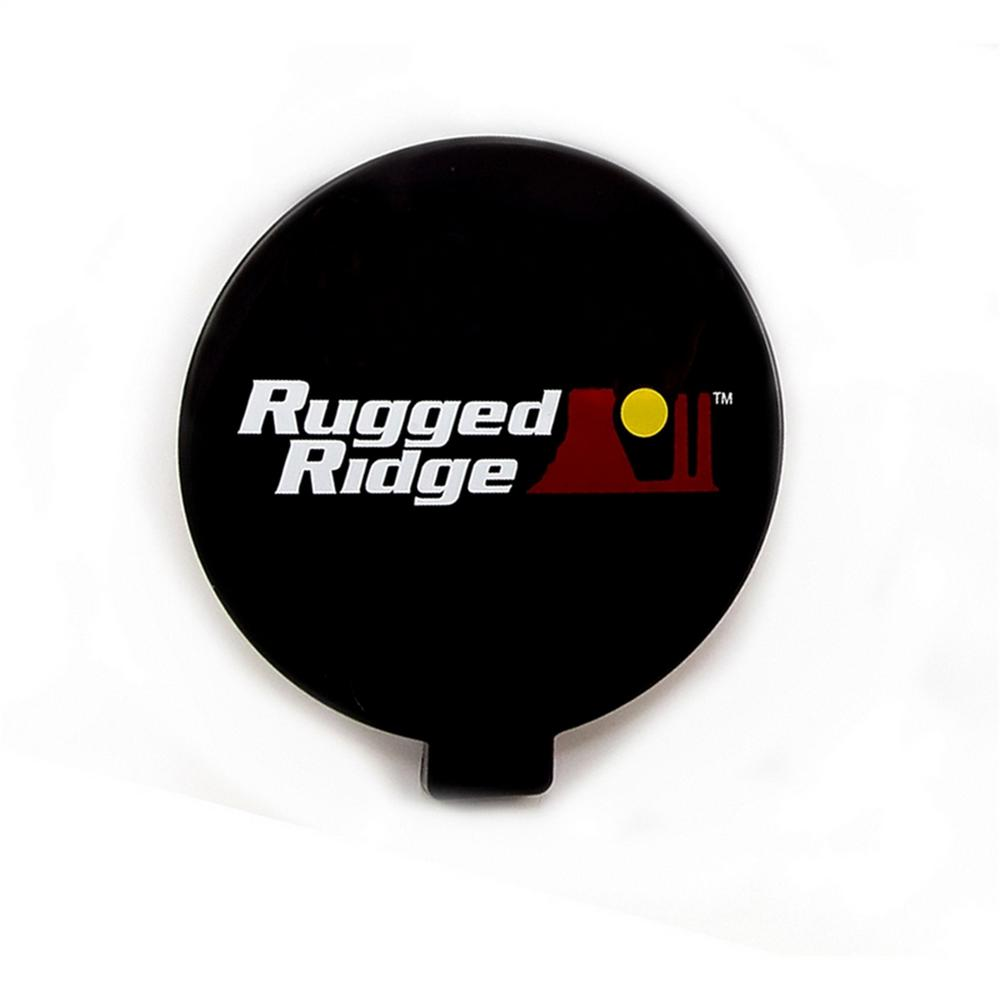 Rugged Ridge Slim Off Road Light Cover In Black 1521057 The Home Wiring Lights