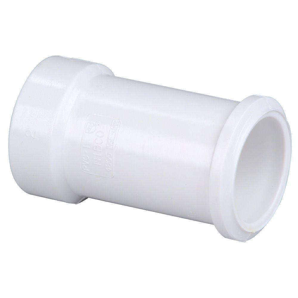 3 in. DWV PVC Hub x Spigot Soil Pipe Adapter
