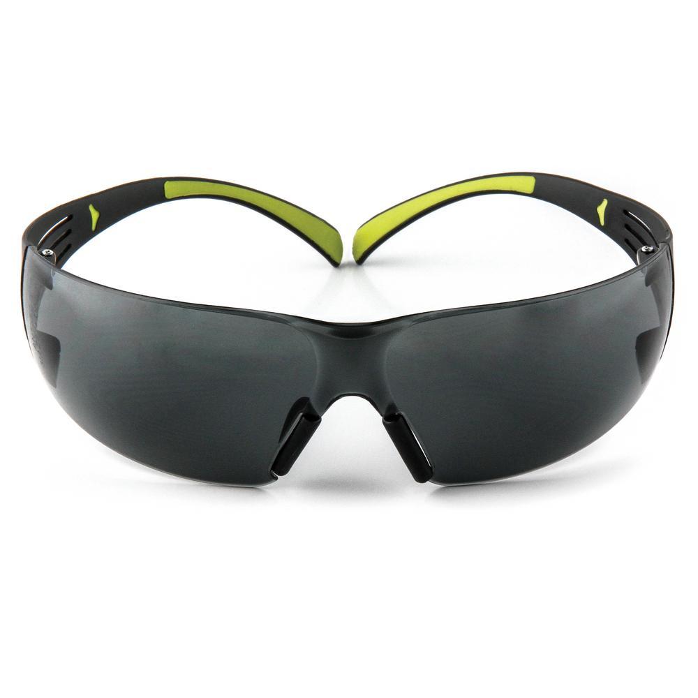 SecureFit 400 Gray Anti-Fog Safety Glasses