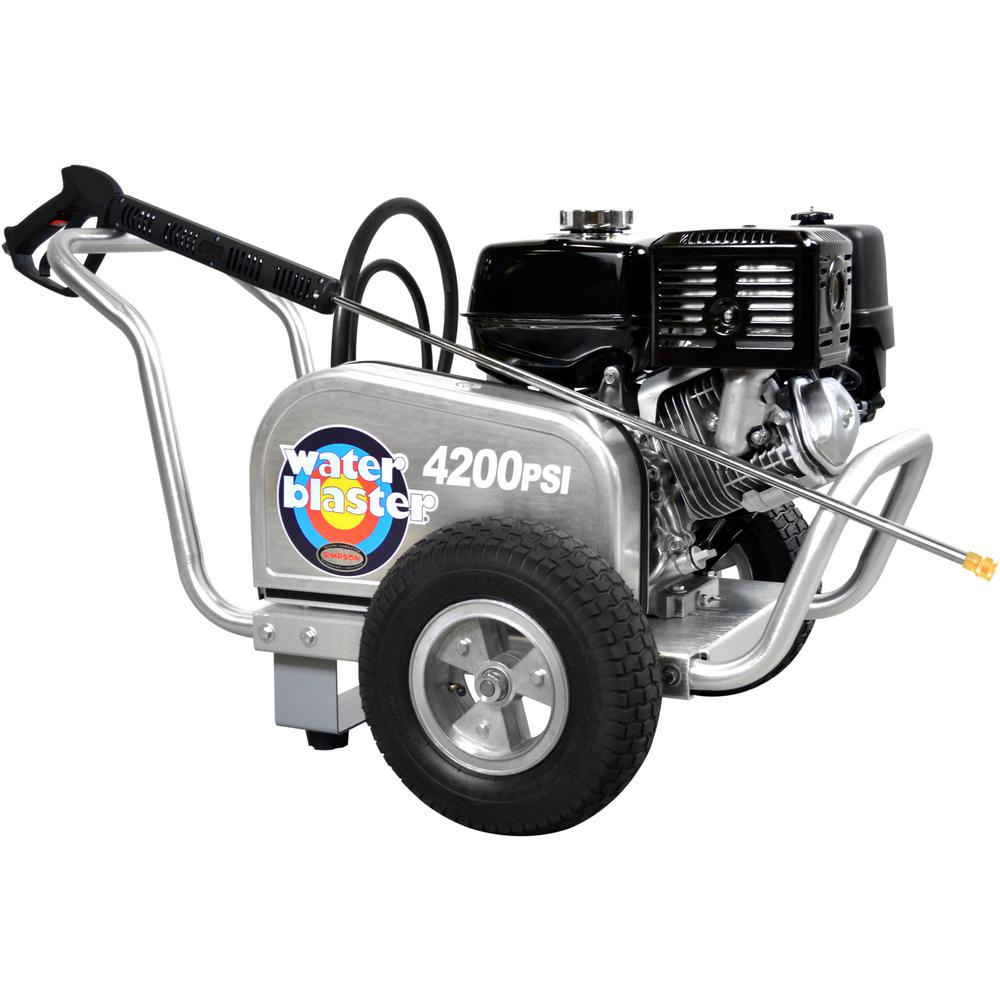 Simpson SIMPSON ALWB60828 4200 PSI at 4.0 GPM Gas Pressure Washer Powered by HONDA GX390
