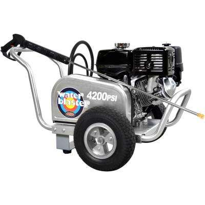 SIMPSON ALWB60828 4200 PSI at 4 0 GPM Gas Pressure Washer Powered by HONDA  GX390