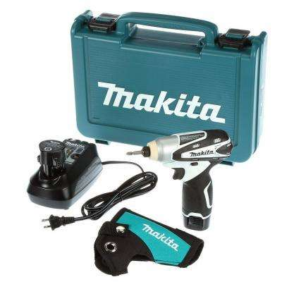 12-Volt MAX Lithium-Ion Cordless Impact Driver Kit with (2) Batteries 1.3Ah, Charger, Hard Case