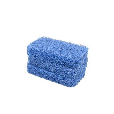Breeze 4.8 in. Non-Scratch Odor Resistant Silicone Scrubbers (Pack of 3)