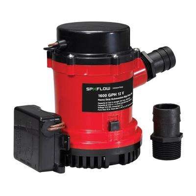 1600 GPH, 12-Volt Auto Pump with Ultima Switch
