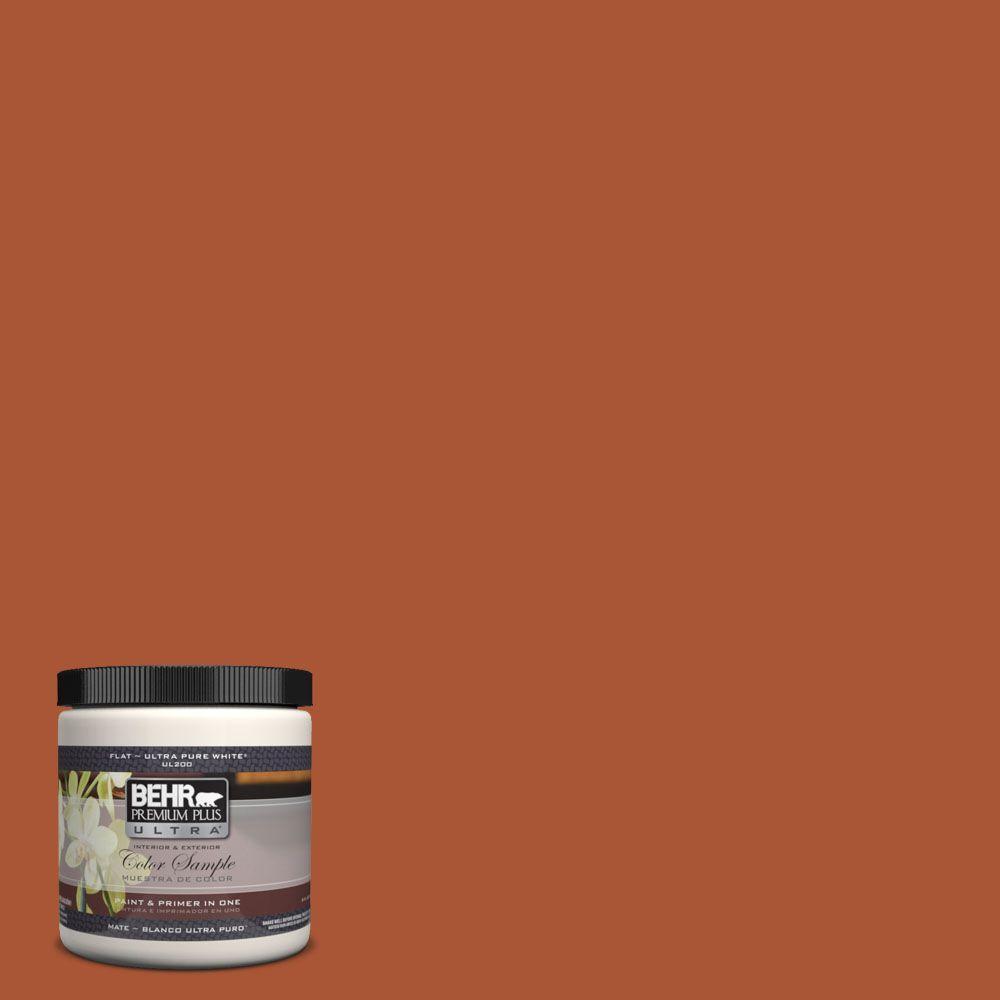 BEHR Premium Plus Ultra 8 oz. #S-H-240 Falling Leaves Interior/Exterior Paint Sample