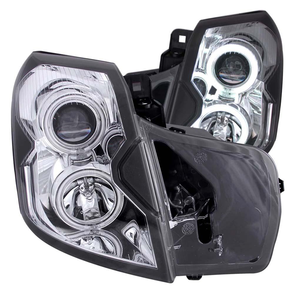 ANZO USA 2003-2007 Cadillac Cts Projector Headlights W