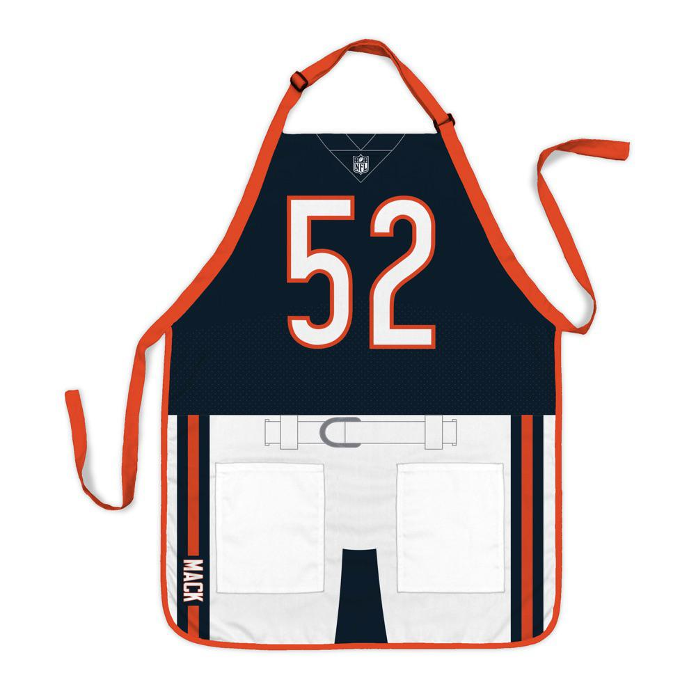 sports shoes e3563 67646 Party Animal Khalil Mack Chicago Bears NFL Jersey Apron