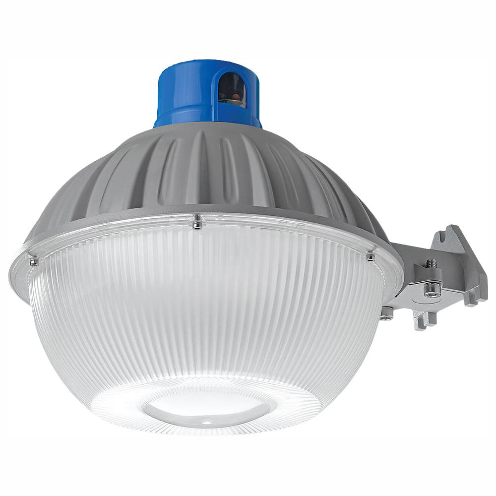 Defiant High Output Dusk To Dawn Grey Outdoor Integrated Led Area Light