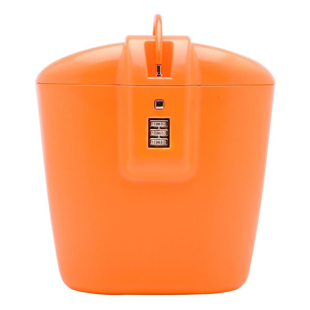Vacation Vault Portable Lightweight Travel Safe with Three ...