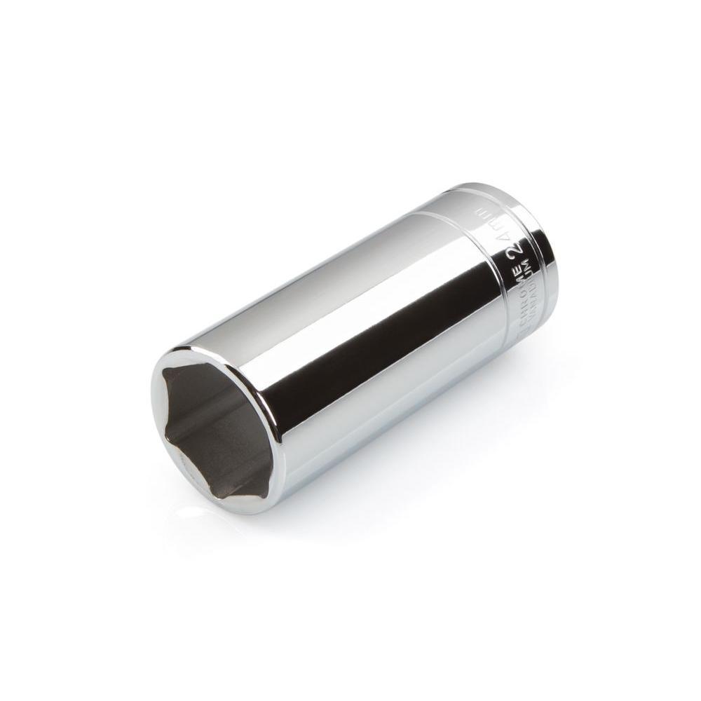1/2 in. Drive 24 mm 6-Point Deep Socket
