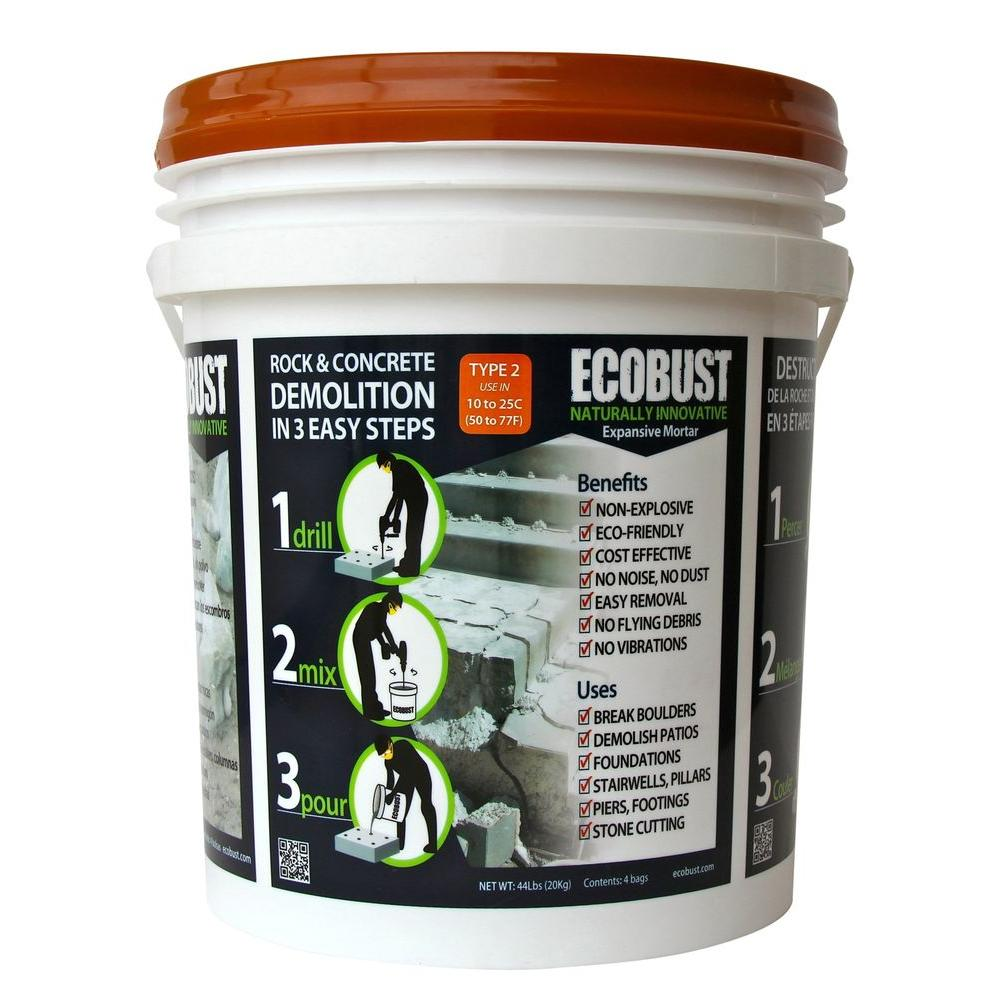 ECOBUST 44 lb. Concrete Cutting and Rock Breaking Non-Com...