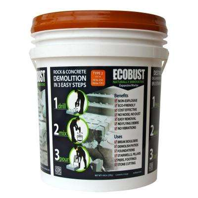 44 lb. Concrete Cutting and Rock Breaking Non-Combustive Demolition Agent Type 2 (50F - 77F)