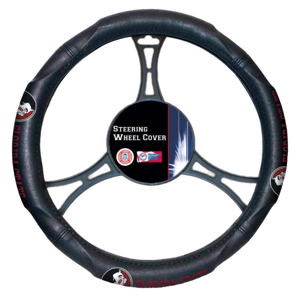 Florida State Multi Colored Rubber- PVC Car Steering Wheel Cover
