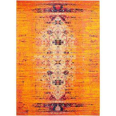 rug with burnt home area orange rugs perfect cievi