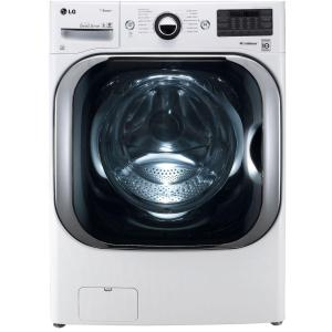 5.2 cu. ft. High-Efficiency Front Load Washer with Steam and TurboWash in White, ENERGY STAR