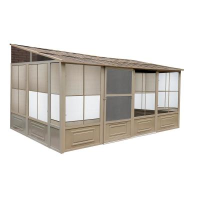 Florence Add-A-Room Solarium 10 ft. x 16 ft. in Sand