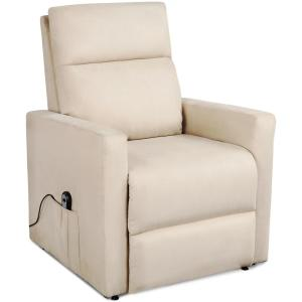 Merax Beige Power Lift Chair Recliner For Elderly