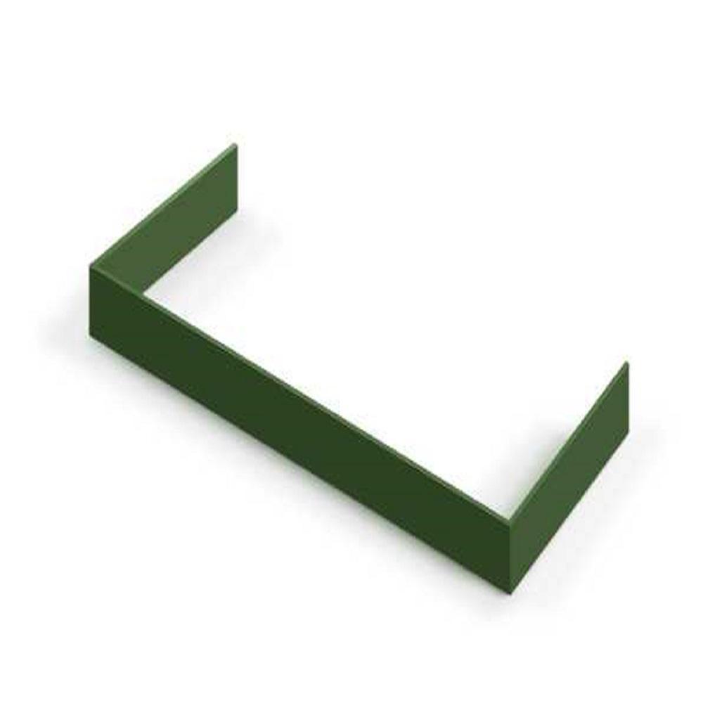 Decorative Toe Kick for 24 in. Range in Emerald Green