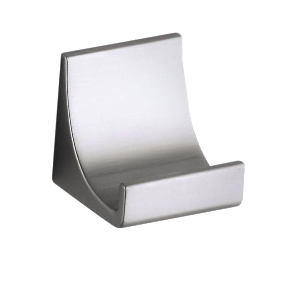 Vibrant Brushed Nickel Loure 1.25 in. Knob