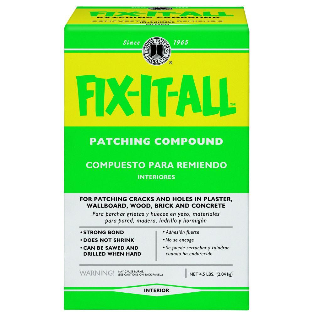 Concrete Patching Compound Home Depot : Custom building products fix it all lb patching